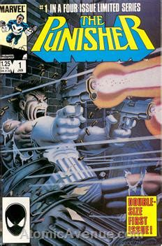 Blood 1st 150 M punisher 1st series 1 from marvel