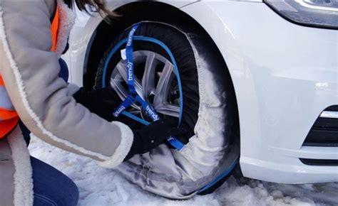 cadenas nieve black friday as 237 se ponen las cadenas textiles en tu coche en d 237 as de
