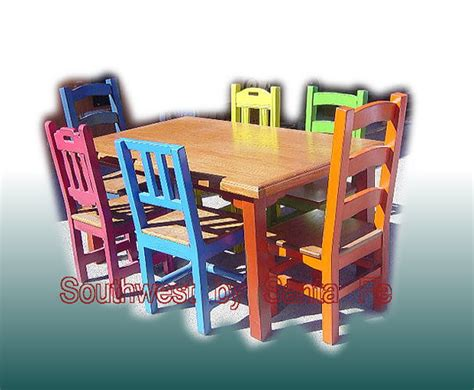 mexican kitchen table carnival southwestern style dining tables