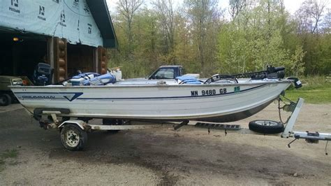 16 foot boat for sale grumman 16 ft fishing boat 69 in beam 1993 for sale for