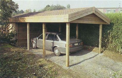 tuinhuis bouwpakket module carport hout berging zadeldak sbnbouw nl
