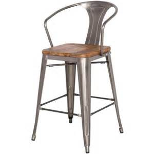bar chairs for kitchen island grand metal counter chair zinc bar stool for kitchen
