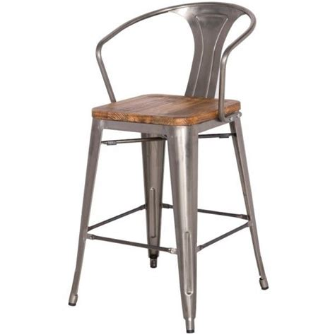 metal kitchen bar stools grand metal counter chair zinc bar stool for kitchen