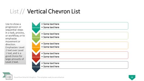 powerpoint chevron template powerpoint smartart graphics the complete collection