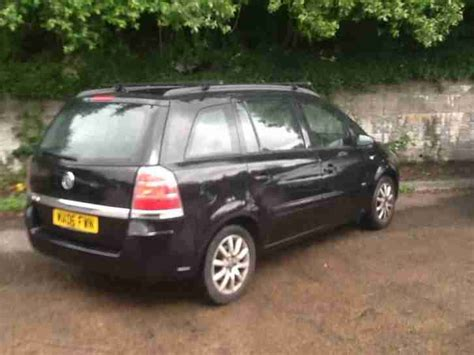 opel vauxhall zafira 1 6i 7 seater car for sale