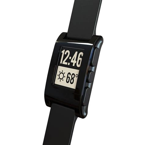 pebble smartwatch black brand new