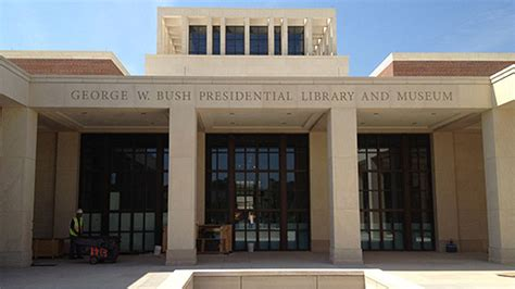 george w bush presidential center constructed with masonry products