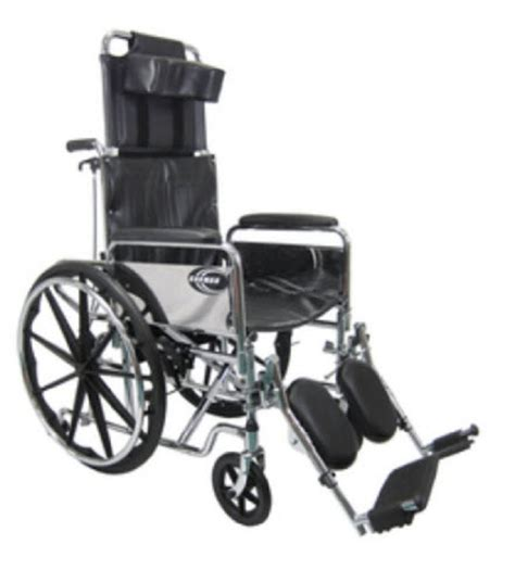 high back reclining wheelchair standard deluxe high back reclining wheelchair