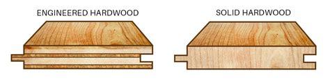 floor manufactured wood flooring vs hardwood for