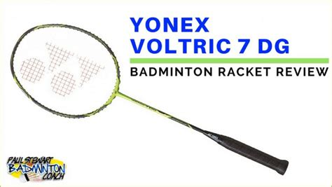 Raket Badminton Yonex Voltric 7dg yonex voltric 7dg written badminton racket review paul