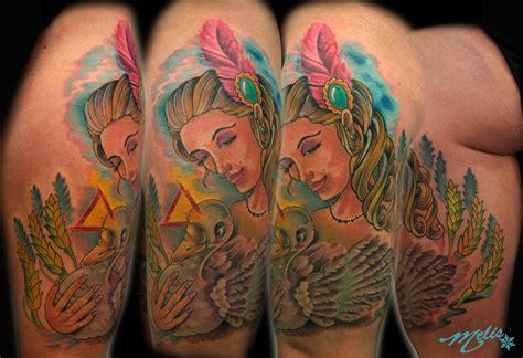melissa tattoo goose lovely locks by fusco tattoos