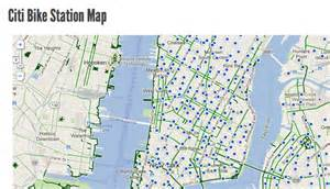 Citi Bike New York Map by Draft Bike Share Station Map Now Online Streetsblog New
