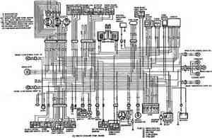 suzuki rf600 electrical wiring diagram
