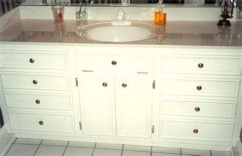 Bathroom Vanity Tops With Built In Sink Furniture Custom Built In Vintage Freestanding Bathroom