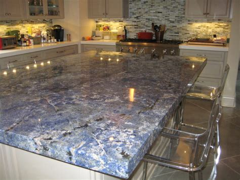 White Kitchen Tile Ideas by Kitchen Blue Bahia Granite Island Traditional Kitchen