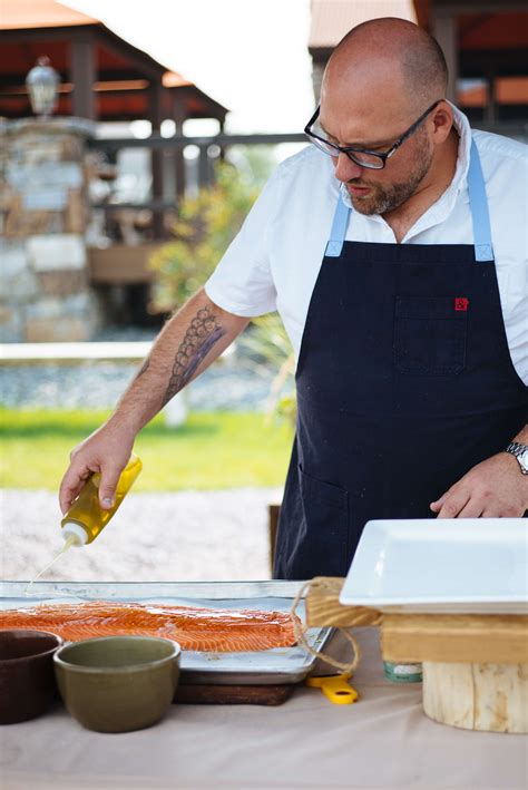 two award winning chefs share their secrets on how to grill salmon the taste sf