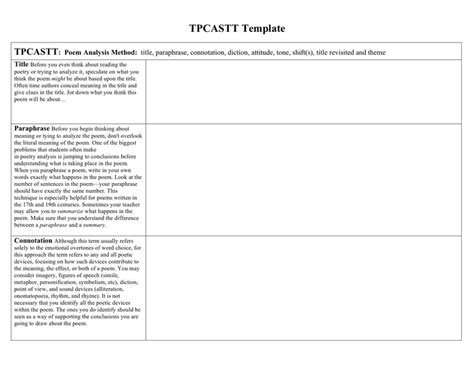 tpcastt template tpcastt worksheet calleveryonedaveday