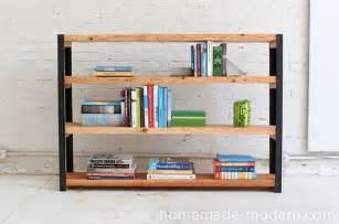Easy To Make Bookshelves Make It Easy Diy Industrial Modern Bookcase 187 Curbly Diy Design Community