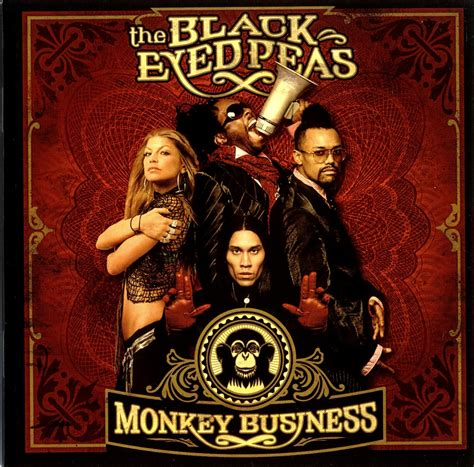 Cd Album Black Eyed Peas monkey business album 2005 info
