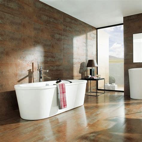 tiled baths metallic finish bathroom tiles housetohome co uk