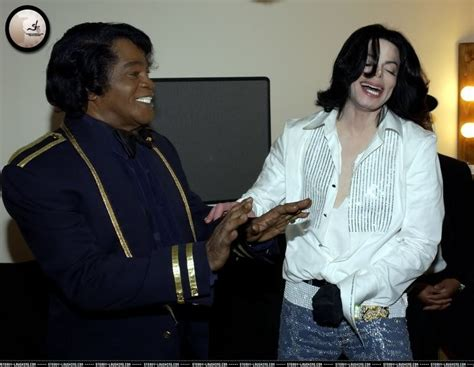 Vanity Mean Michael With James Brown Michael Jackson Photo 11694244