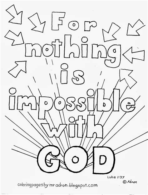 Coloring Pages For Kids By Mr Adron Nothing Is God Is Coloring Pages