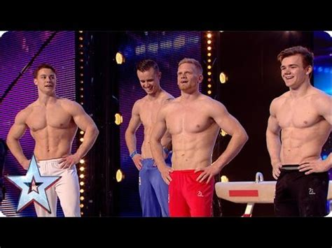 ty burrell gymnast 4g have some serious six packs britain s got more talent
