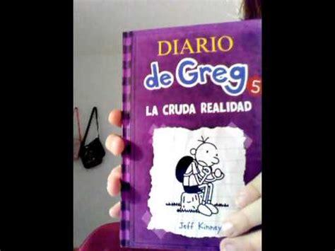 libro diario de greg 8 mi colecci 243 n de libros diario de greg youtube