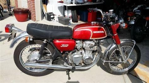 1974 cb350 cb 350 four ruby