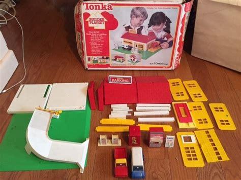 Shell Car Wash Gift Card - vintage 1979 tonka builder playset 5051 car wash shell service station parking ebay