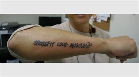crossfit tattoo the 25 worst training inspired tattoos complex
