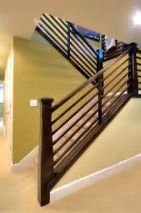 Stairway Handrail Height Code Exterior Amp Interior Traditional Rambler Traditional
