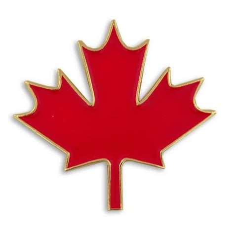 Maple Pin canadian maple leaf pin maple leaf pins maple leaf