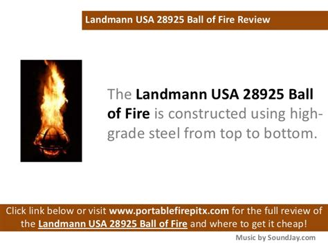 landmann usa 28925 of outdoor fireplace