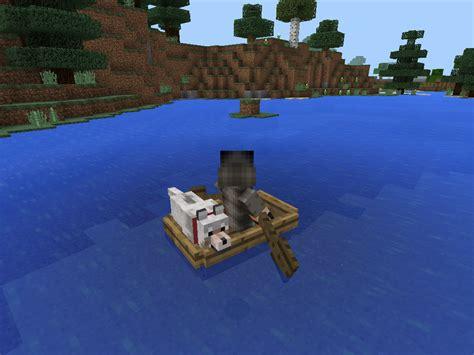 how to put your dog in a boat minecraft pe dogs breed - Minecraft Dog On Boat