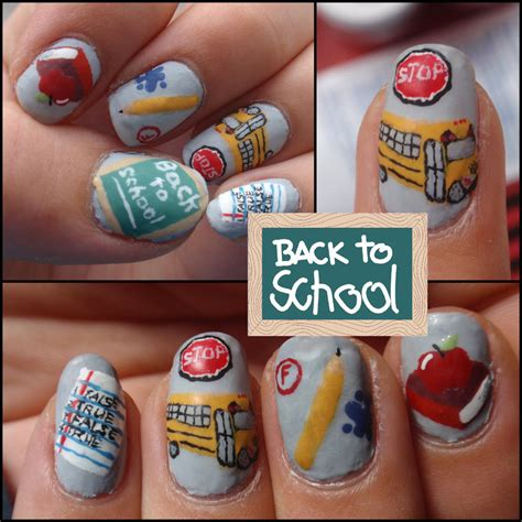 color my nails school back to school nail ideas world of temptations
