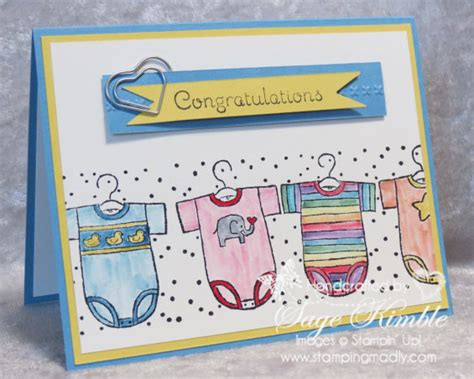 Handmade Congratulations Cards - three ways to use stin write markers