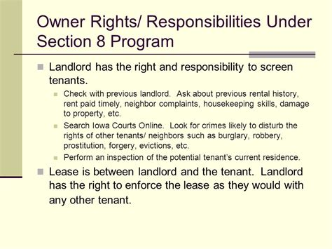 section 8 housing rules for landlords section 8 tenants rights 28 images 1000 ideas about