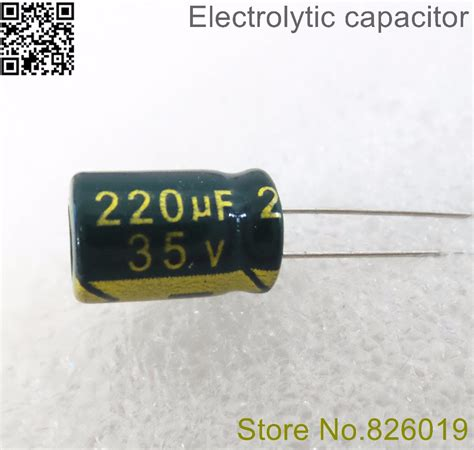 220uf 35v electrolytic capacitor 35v 220uf 8 12 high frequency low impedance aluminum electrolytic capacitor 220uf 35v in