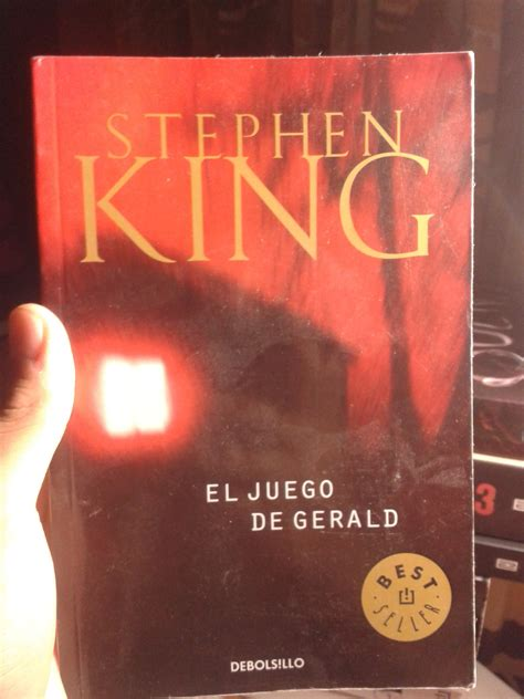 libro geralds game stephen king mi colecci 243 n de libros