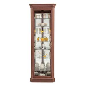 Curio Cabinet Lowes Shop Philip Reinisch Company Lighthouse Candlelight Cherry