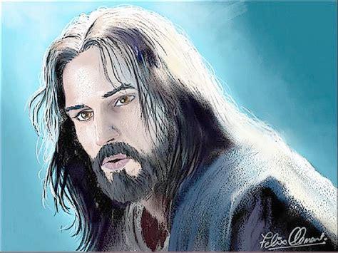 wallpaper animasi tuhan yesus gambar wajah yesus tuhan kristen