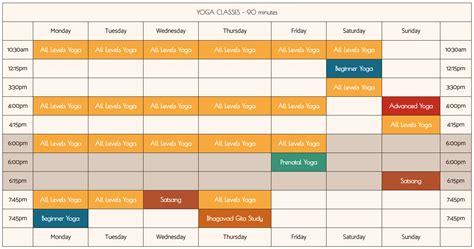 class schedule sivananda yoga vedanta center nyc yoga