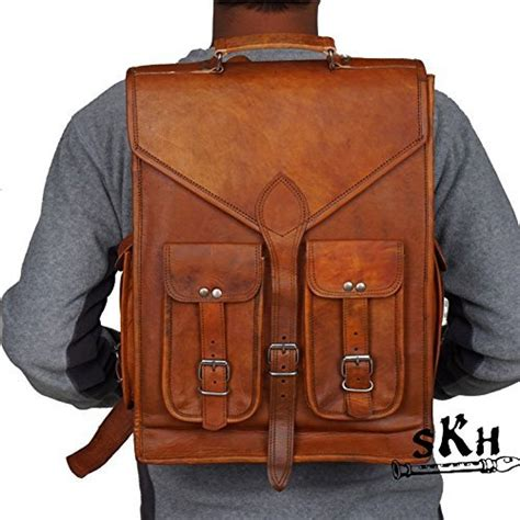 2in1 Backpack Sunflower skh 16 quot inch vintage leather macbook briefcase 2 in 1