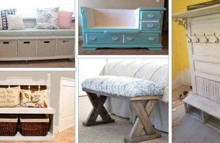 easy diy entryway bench projects