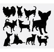Chiwawa Dog Pet Silhouette Good Use For Symbol Web Icon