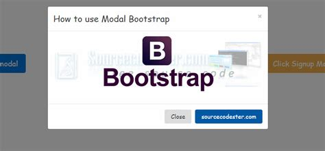 tutorial bootstrap modal how to use modal bootstrap free source code tutorials