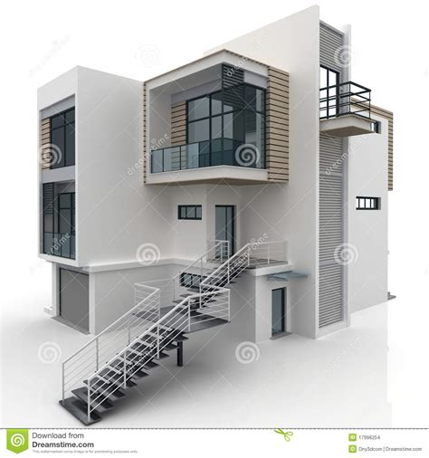 home design 3d 9apps 3d house isolated on white stock illustration image of
