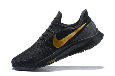delicate nike air zoom pegasus  black gold