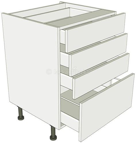 4 Drawer Unit by 4 Drawer Pan Base Unit Lark Larks